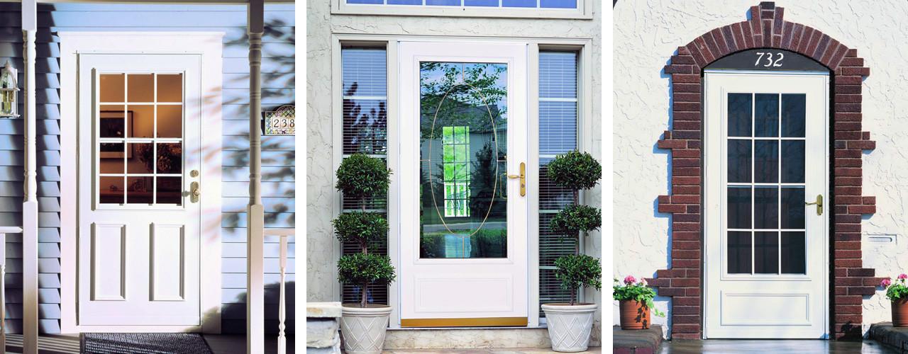 Larson Storm Door Glass Retainer Glass Designs