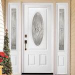 Painted Entryway Door