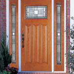 Craftsman Style Entry Door