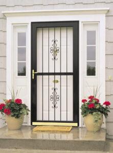 classic view security door