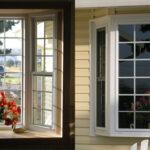 Colonial Style Bay Window